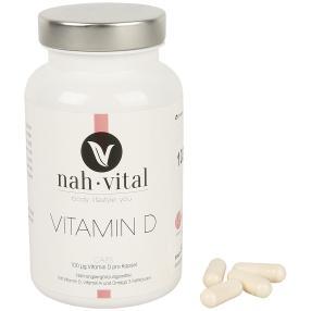 nah-vital Vitamin D 120 Kapseln