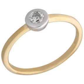 Ring 585 Gelbgold Brillant