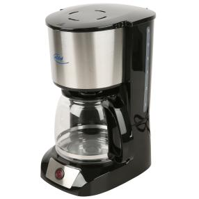 ELTA Kaffeemaschine Edelstahl 800 W, 12 Tassen