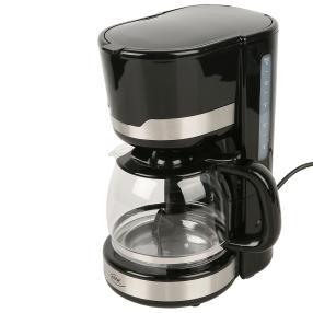 ELTA Kaffeemaschine Black Line 900 W, 1,5 l
