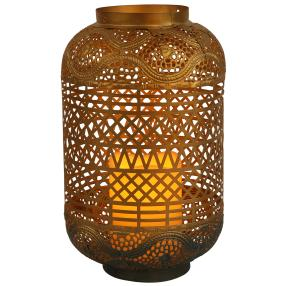 LED-Laterne Orient gold
