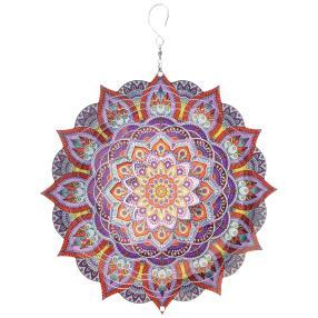 Windspiel Mandala 200 - KASHMIR violett
