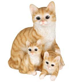 Zauberwelt Katzenfamilie