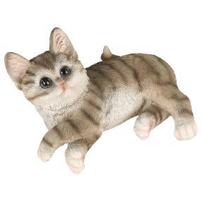 Zauberwelt Katze liegend