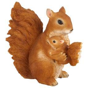 Zauberwelt Eichhörnchen mit Baby