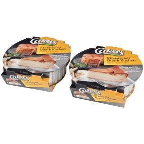 Cakees Klassischer Quarkkuchen 2x 500g