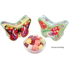 Metall-Schmetterlingsdosen 2er Set