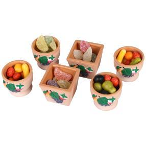 Mini-Terrakottapflanzgefäße