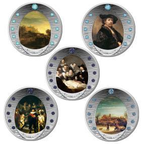 Rembrandt-Set, 55 Edelsteine
