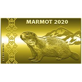 Swiss Goldbar Murmeltier 2020