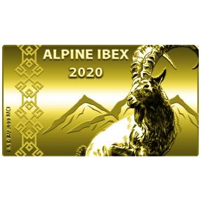 Swiss Goldbar Alpensteinbock 2020