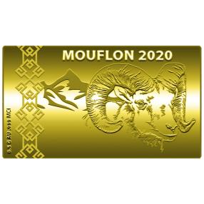 Swiss Goldbar Mufflon 2020