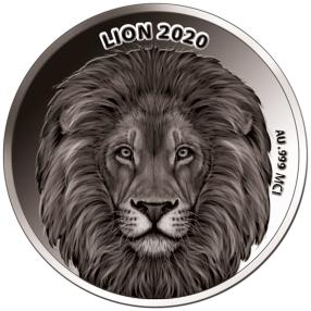 Weißgoldklassiker Löwe 2020