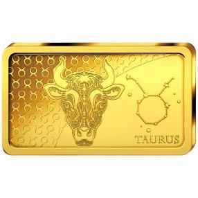 Goldbarren Stier 2020