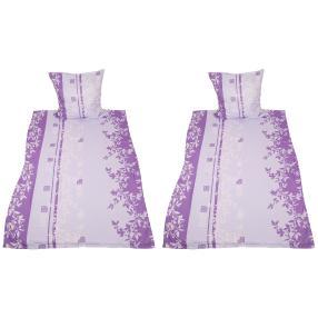 AllSeasons Bettwäsche 4tlg. Lavendel