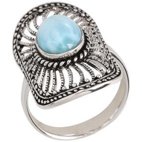 Ring 950 Silber Larimar