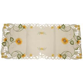 Tischläufer Sonnenblumen, 40 x 90 cm