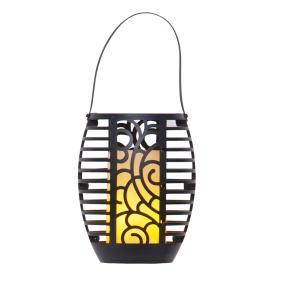 LED Solar-Fackel, schwarz