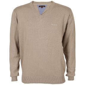 pierre cardin Herren-Pullover, 100% BW, beige
