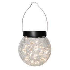 LED Solar-Hängeleuchte Kugel