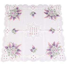 Mitteldecke Lavendel, 85 x 85 cm