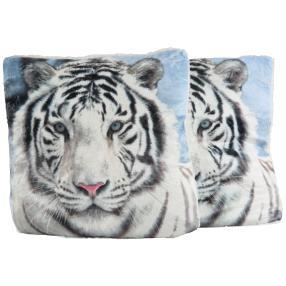 Dekokissen Tiger 2er Set, 40 x 40 cm
