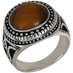 Ring 925 Sterling Silber Tigerauge