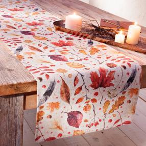 Tischläufer Herbst, 140 x 40 cm