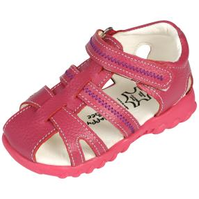 Happy Bee Kindersandalen, lila, pink