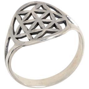 Ring Blume des Lebens 925 Sterling Silber