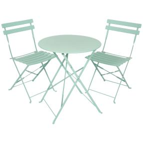 Lifetime Bistro Set 3er-Set grün