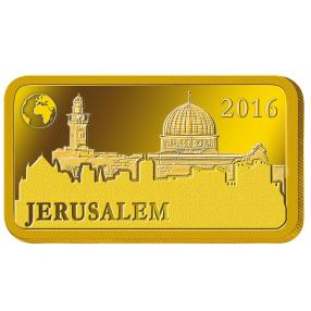 Goldbarren 1 g Felsendom 2016