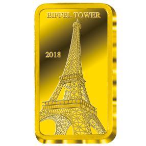 Goldbarren 0,5 g Eiffelturm 2018