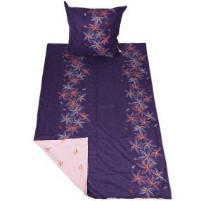 CoolSummer Bettwäsche 2tlg. violett-rosa 135x200