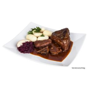 Rinderbraten in Barolosoße 1000g