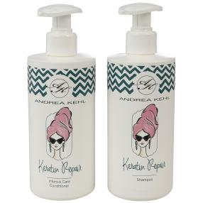 ANDREA KEHL Keratin Shampoo & Conditioner 300 ml