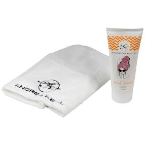 ANDREA KEHL Set Hairplex 200 ml mit Turban