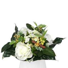 Blumenstrauß Rosenmix, weiß