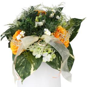 Blumenstrauß Rosenmix, orange