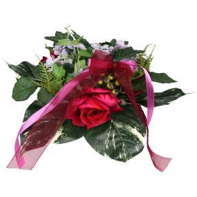 Blumenstrauß Rosenmix, rot/violett