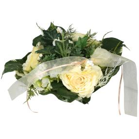 Blumenstrauß Rosenmix, creme