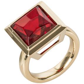 Ring 925 St. Silber vergoldet Bernstein