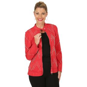 TRENDS by J. Leibfried Jacke 'Madeleine' rot