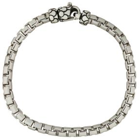 Armband 925 Sterling Silber, ca. 21 cm