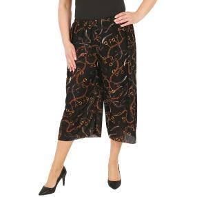 Leichte Damen-Sommerhose, Bambus, multicolor