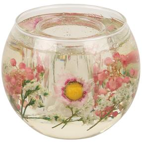 fleurs éternelles Kerzenhalter Margerite rund