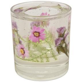 fleurs éternelles Teelichter Blumen