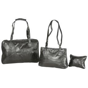 Taschenset 3-teilig Echtleder