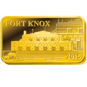 1 Gramm Goldbarren 'Fort Knox'