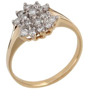 Ring 585 Gelbgold, Brillanten